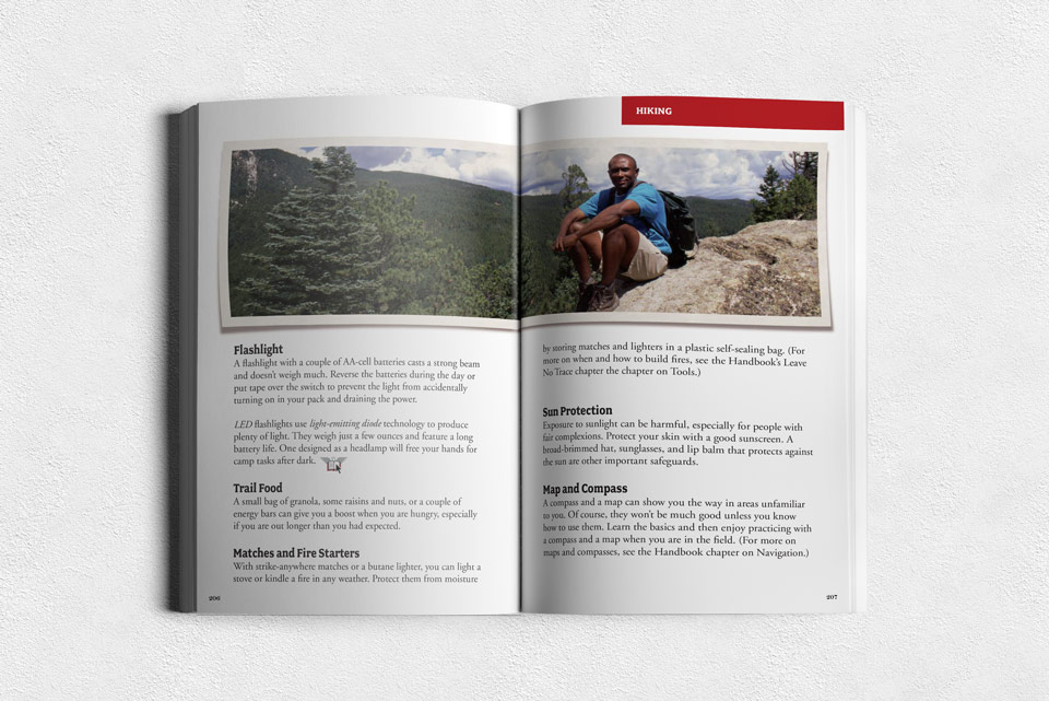 Boy Scouts of America Book Spread