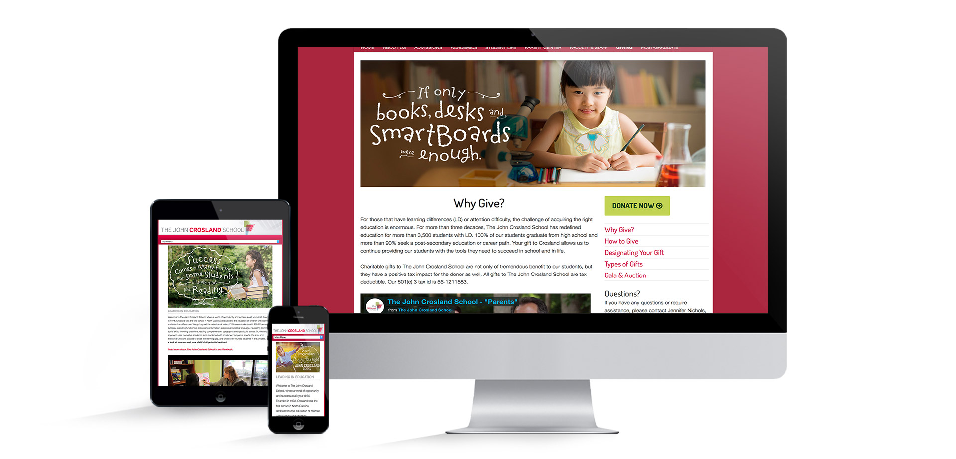 The John Crosland School Website