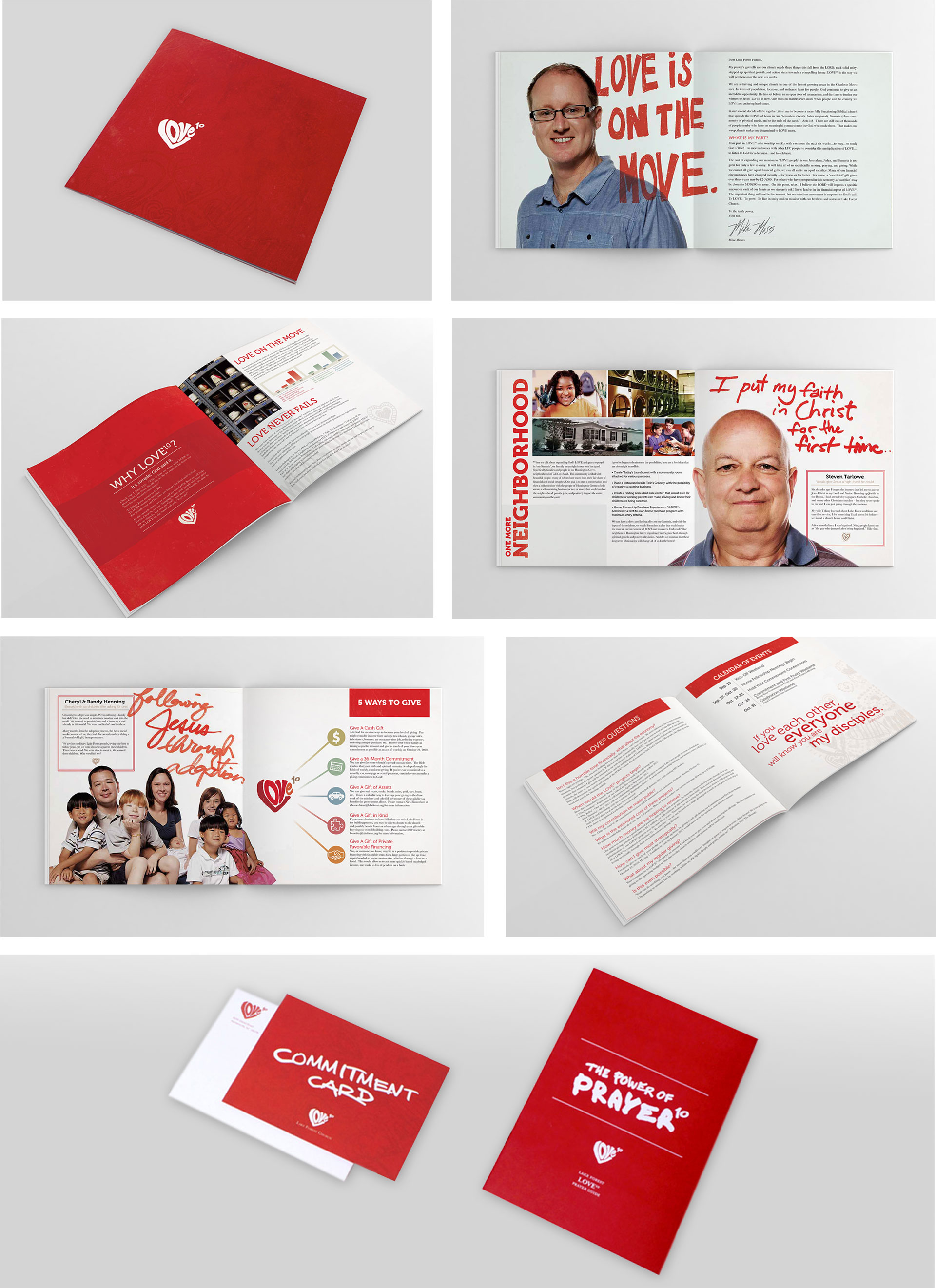 Lake Forest Church Brochure