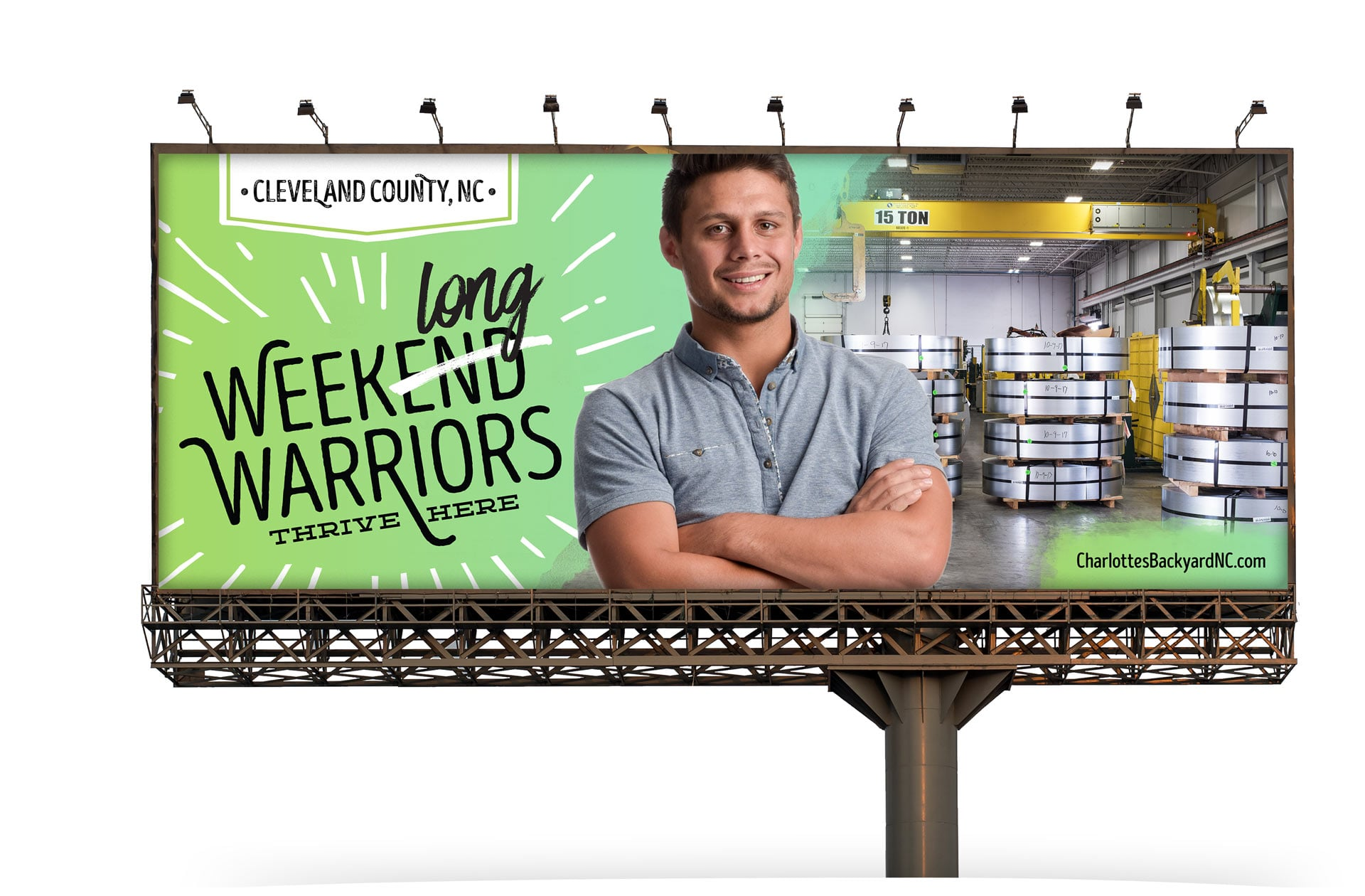 Cleveland County Economic Development Partnership Billboard